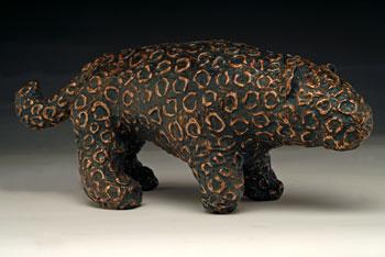Alex Sax, <i>Black Cat</i>, cast bronze