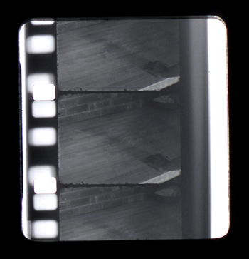 16mm film still Giclee print, 2005