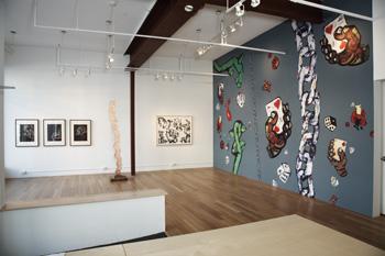 Charlie Hewitt, installation view