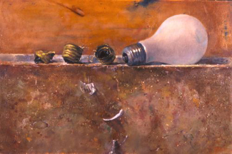 Wilson Jay Ong, Crushed, oil on canvas, 2006