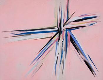 Jaime Gili, <i>Eichner</i>, 2007, acrylic on canvas, 106