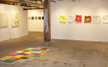 installation view, Words are Deeds, 2007