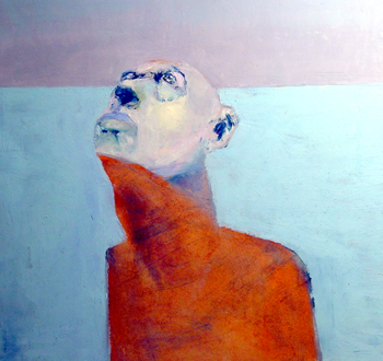 <b>Michael Alderson</b>, <i>Untitled</i>, oil pastel on paper, 2008