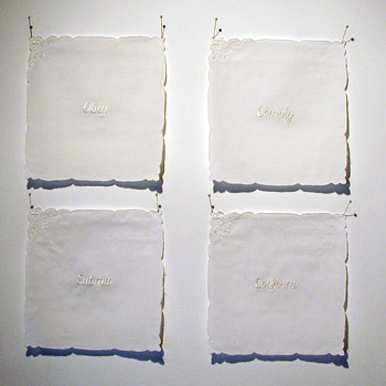 Allison Cooke Brown, Set of Four, 2006