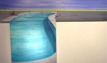 Pool, oil on canvas, 2005