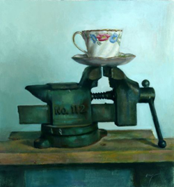 Wilson Jay Ong, Porcelain Cup, oil on canvas, 2006