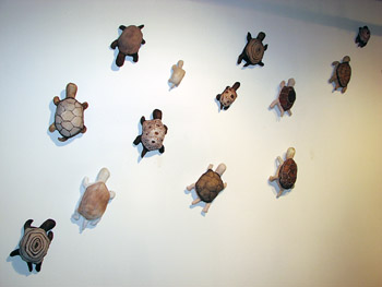 Alex Sax, Menagerie Recovery, Turtle Migration (detail), 2006