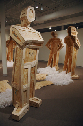 <i>Vessels Absent</i>, installation at University of Maine Museum of Art through June 2009