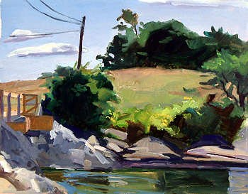 Debra Yoo, <i>Summer day, Freeport</i>, 2009, 14